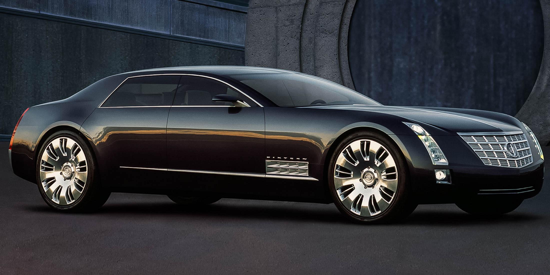 Konceptbilen Cadillac Sixteen