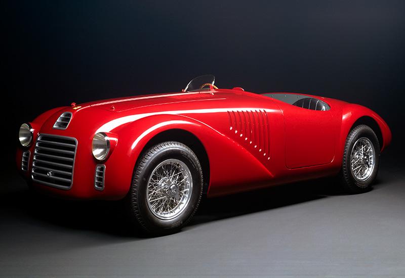 Ferrari 125S, tillverkarens första modell