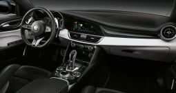 Cockpit i nya Alfa Romeo