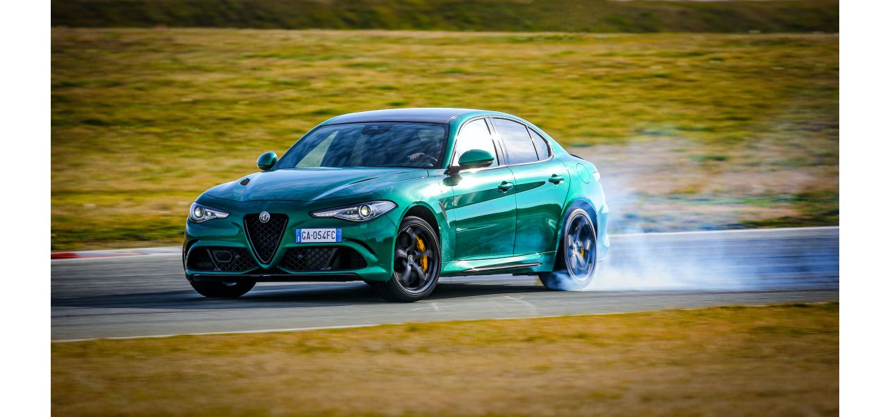 Alfa Romeo Giulia Quadrifoglio sladdar