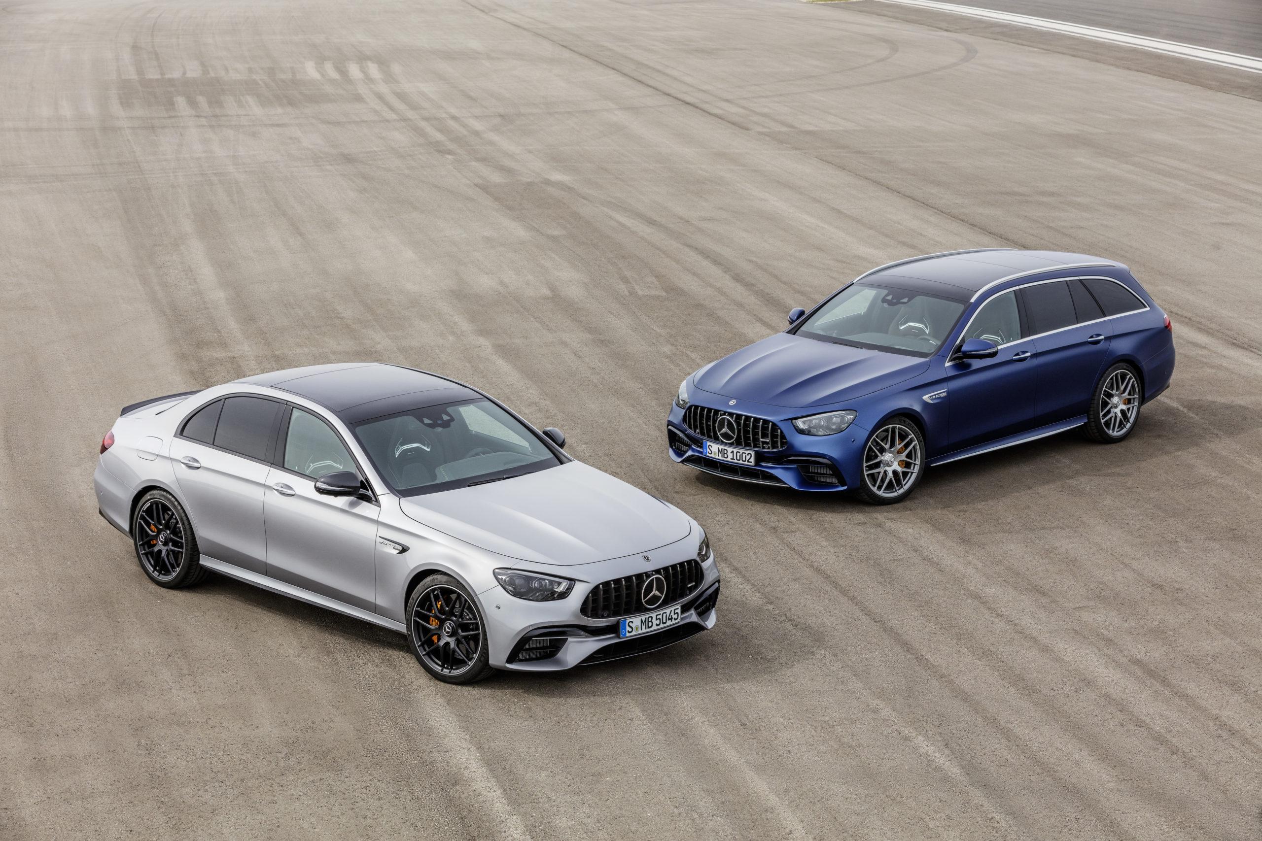 Nya Mercedes-AMG E 63 S, som kombi och sedan