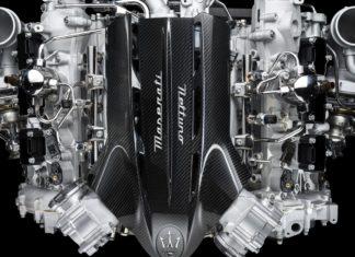 Bild på den nya Nettuno-motorn från Maserati