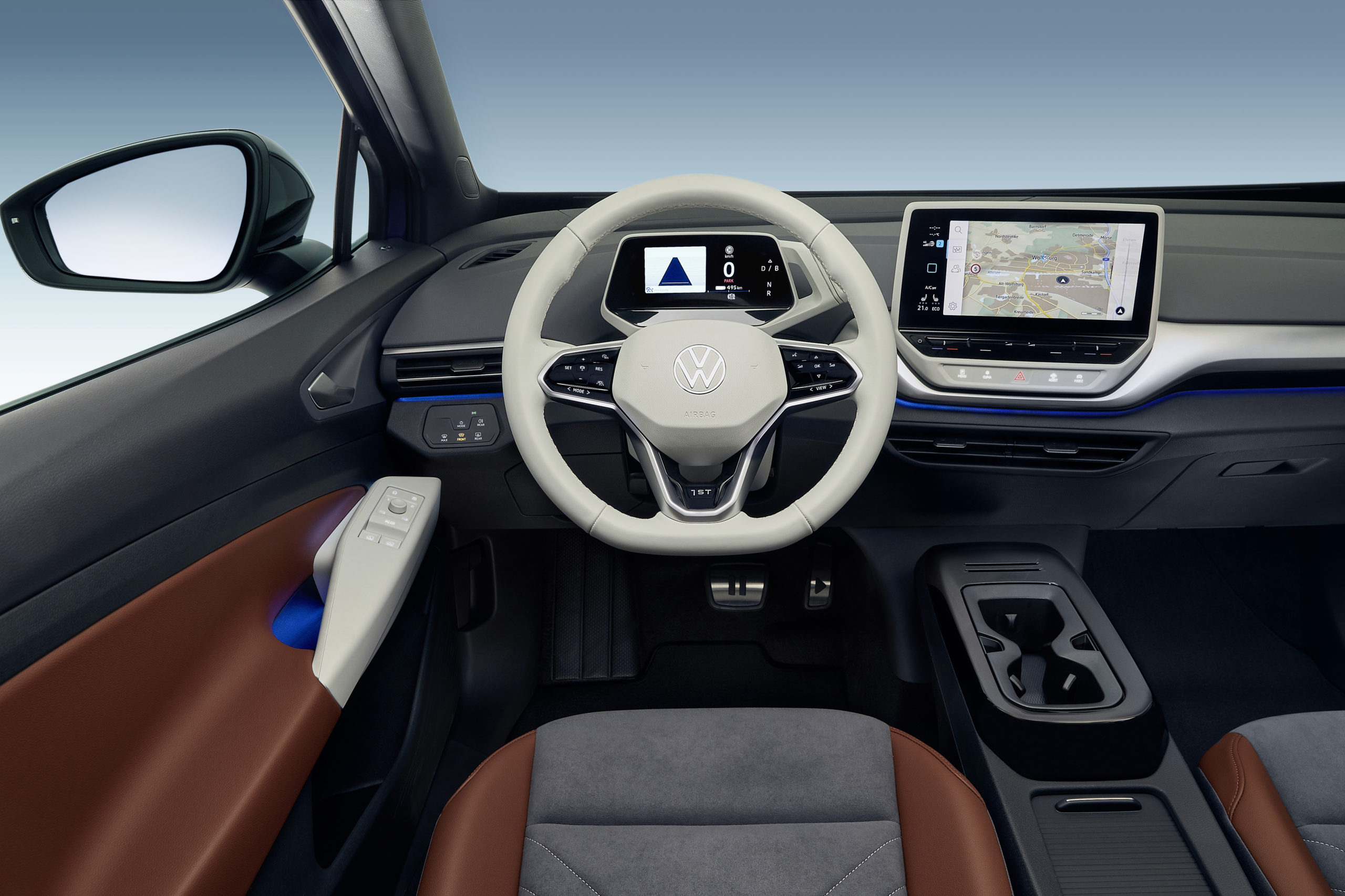 Interiören i Volkswagen ID 4