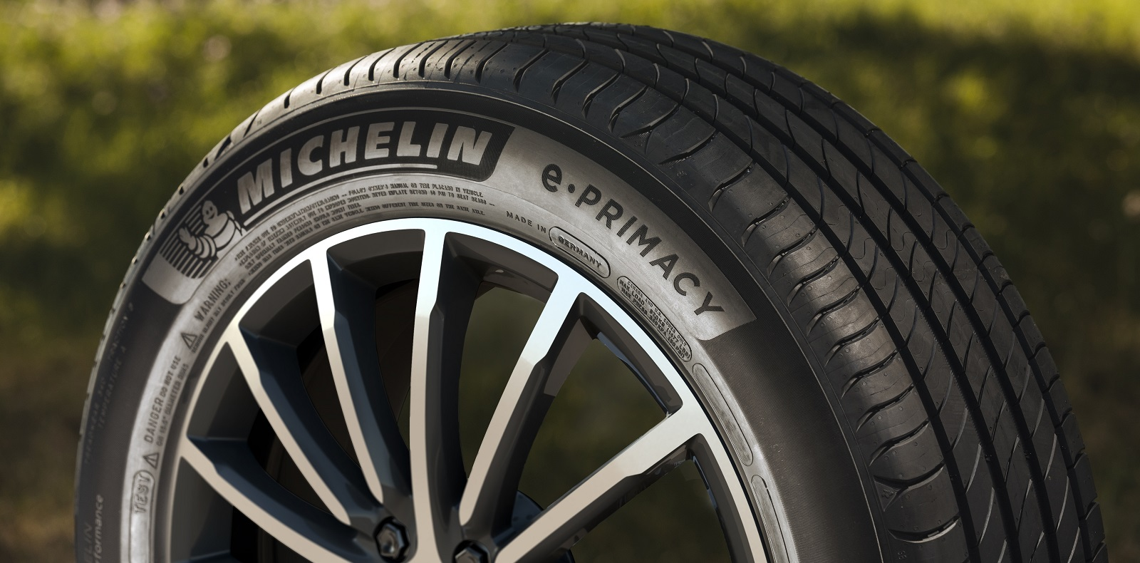 Omslagsbild Michelin E.Primacy