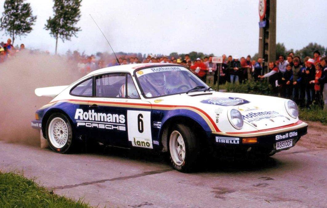 Rothmans 911 på ställ