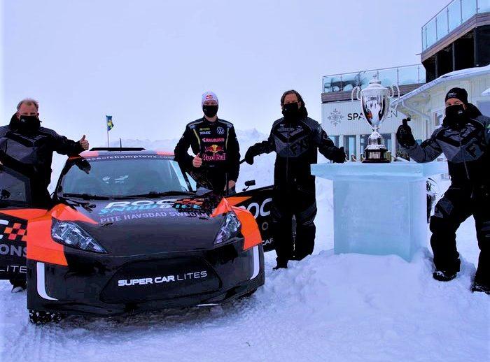 förare och bil race of champions 2022