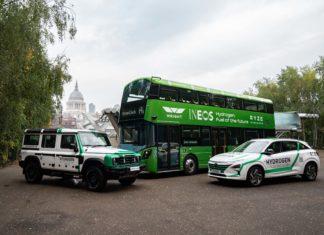 Ineos Grenadier, Hyundai Nexo och en vätgasdriven buss